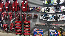 Lifejackets, wake boards, water skis and more at Riverrunner, Taber